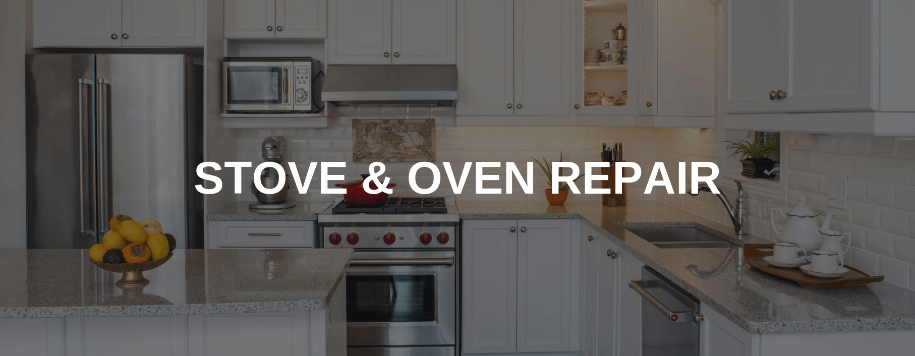 stove repair union city