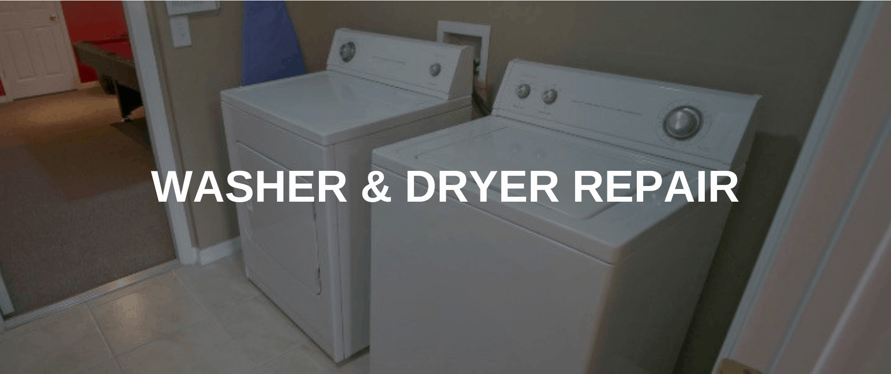 washing machine repair union city